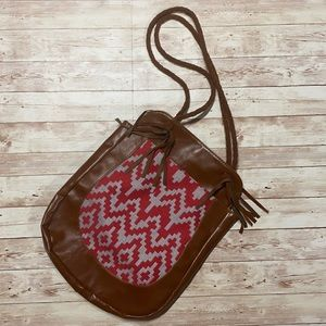 🚨Mossimo patterned faux leather purse